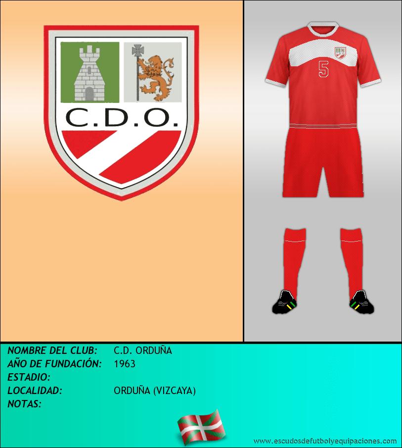 Escudo de C.D. ORDUÑA