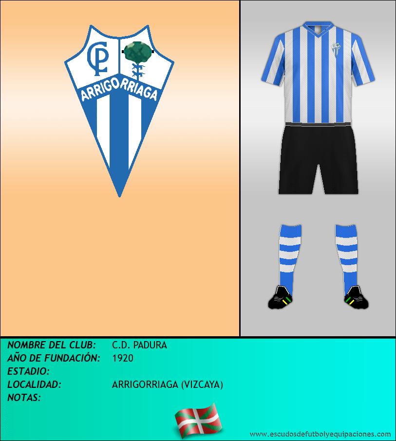 Escudo de C.D. PADURA