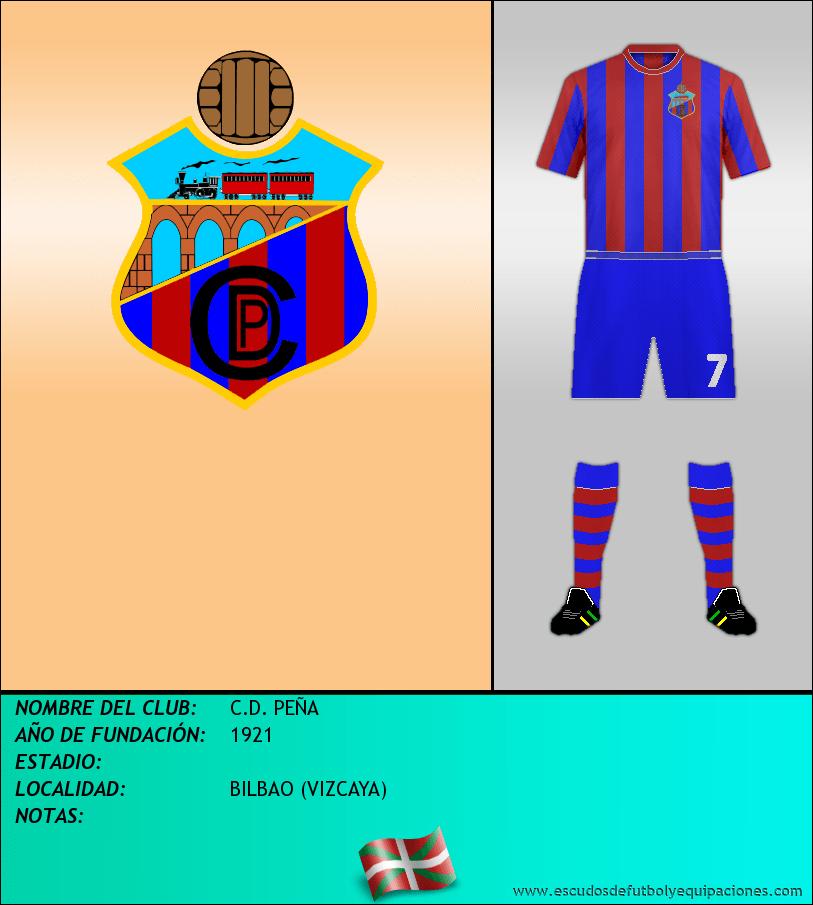 Escudo de C.D. PEÑA