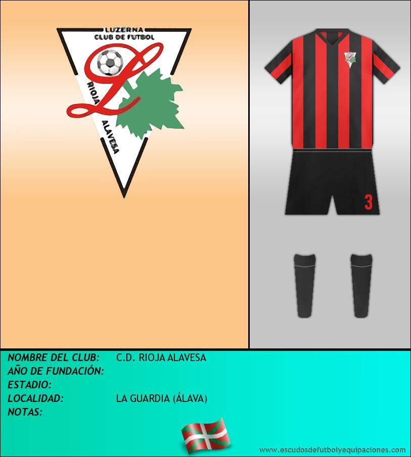 Escudo de C.D. RIOJA ALAVESA