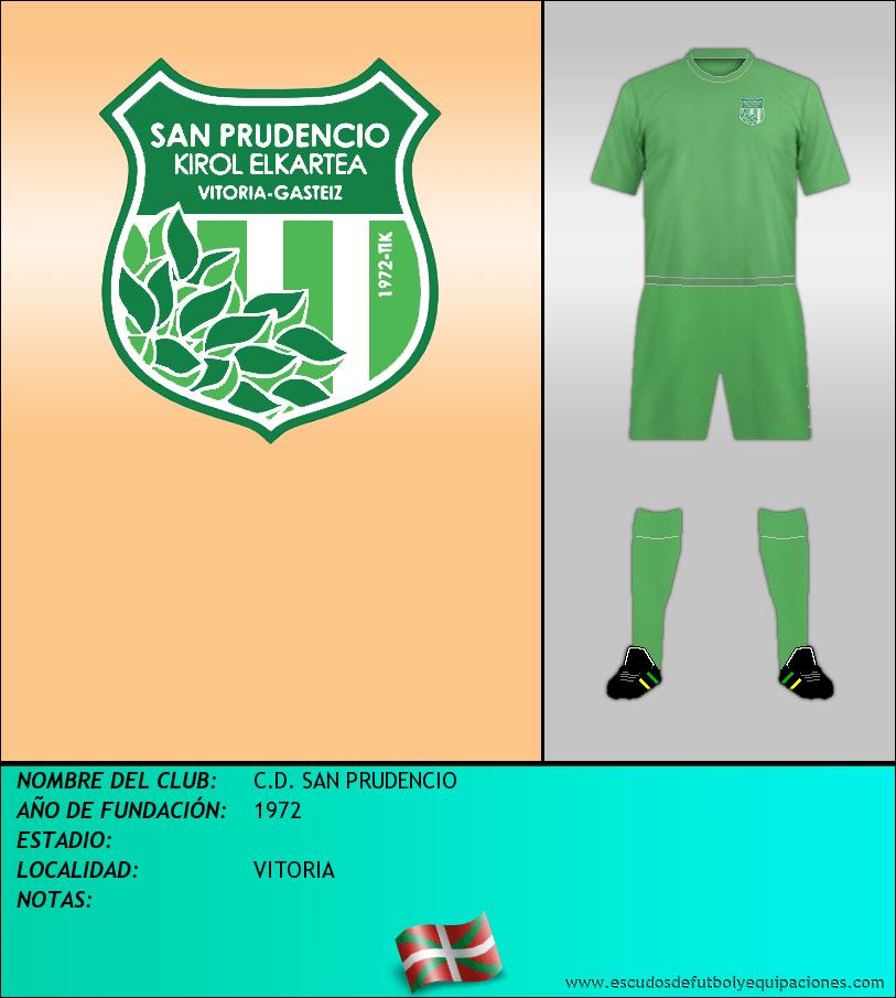 Escudo de C.D. SAN PRUDENCIO