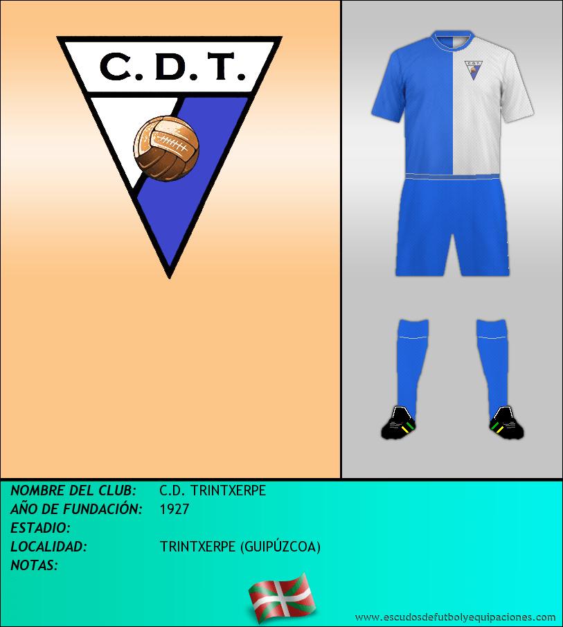Escudo de C.D. TRINTXERPE