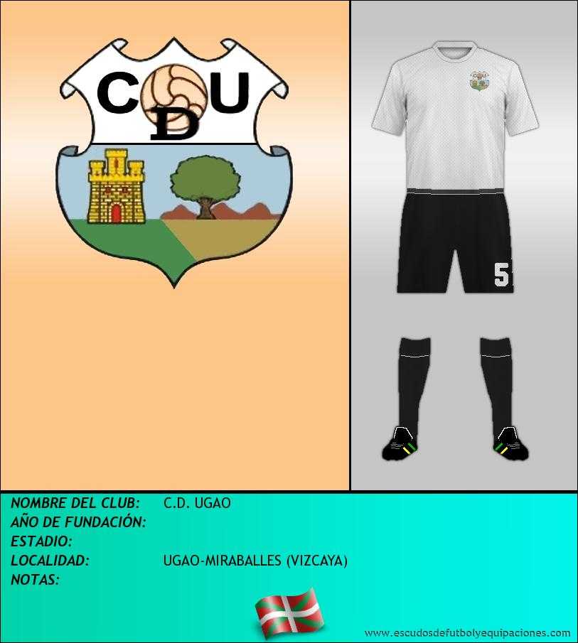 Escudo de C.D. UGAO