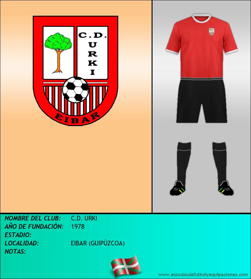 Escudo de C.D. URKI
