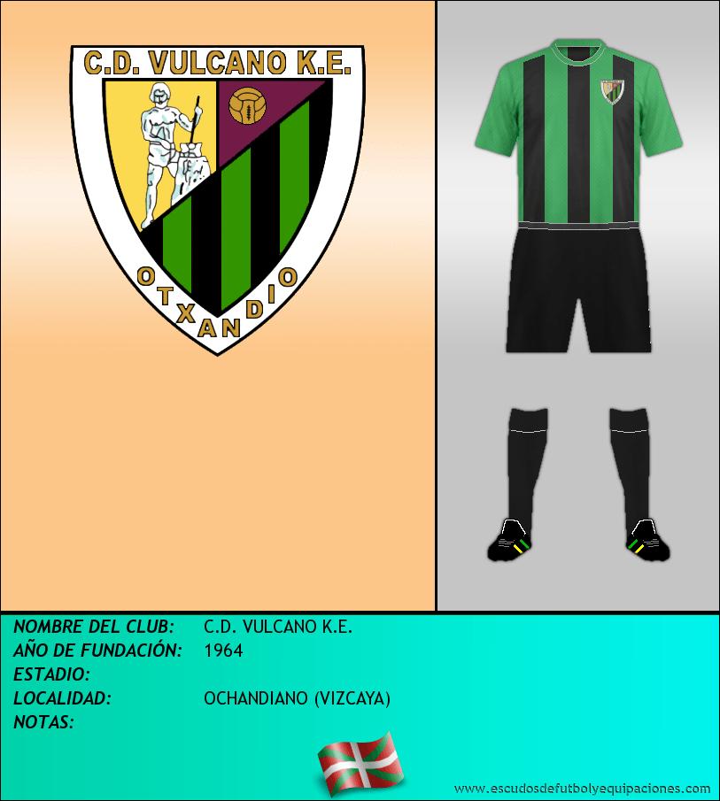 Escudo de C.D. VULCANO K.E.