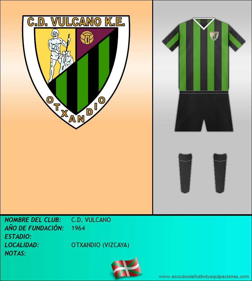 Escudo de C.D. VULCANO