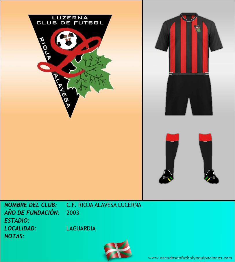 Escudo de C.F. RIOJA ALAVESA LUCERNA