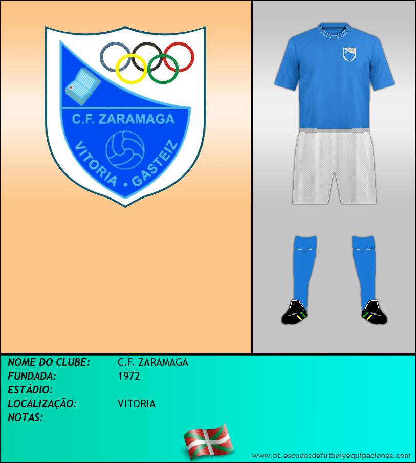 Escudo de C.F. ZARAMAGA