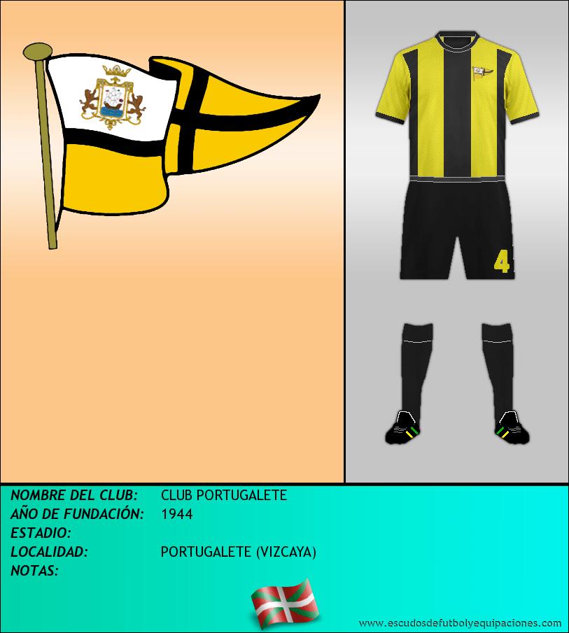Escudo de CLUB PORTUGALETE