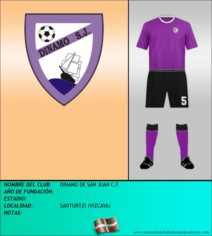Escudo de DINAMO DE SAN JUAN C.F.