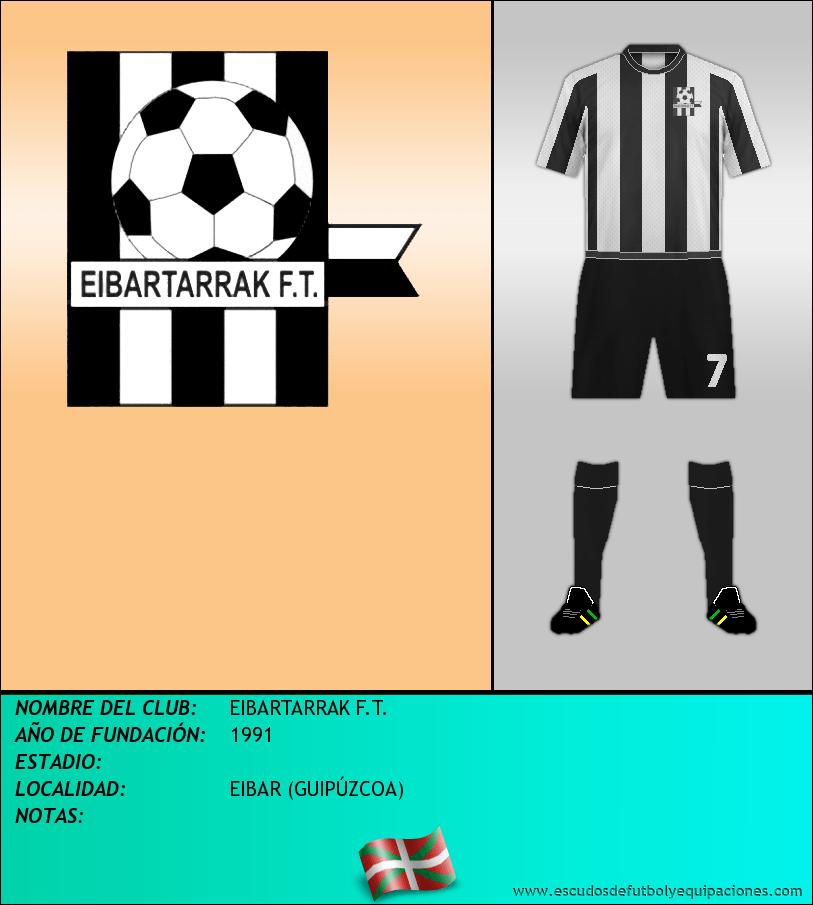 Escudo de EIBARTARRAK F.T.