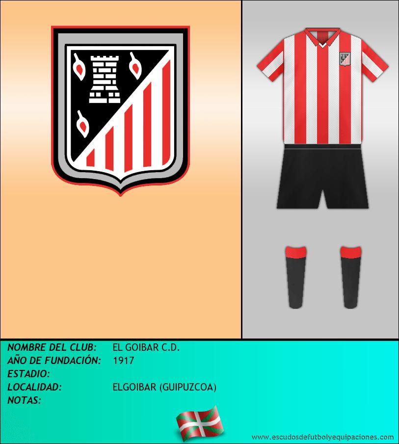 Escudo de EL GOIBAR C.D.