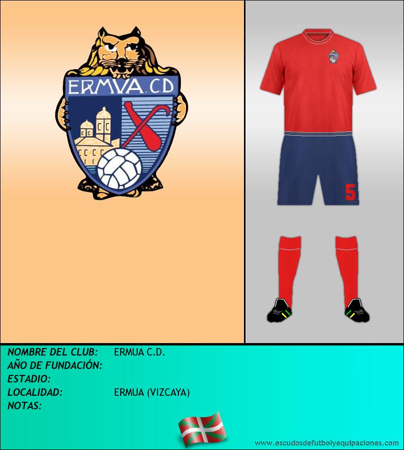 Escudo de ERMUA C.D.