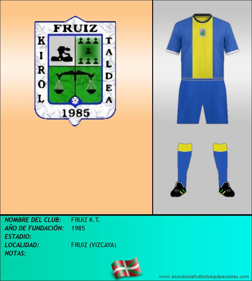 Escudo de FRUIZ K.T.