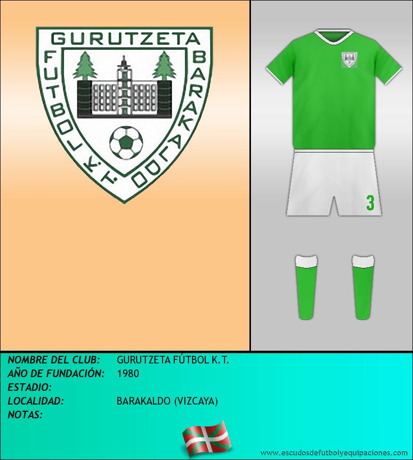 Escudo de GURUTZETA FÚTBOL K.T.