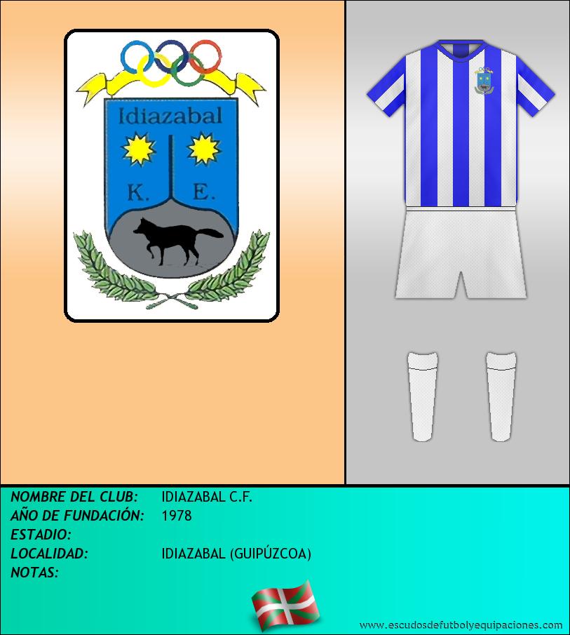 Escudo de IDIAZABAL C.F.