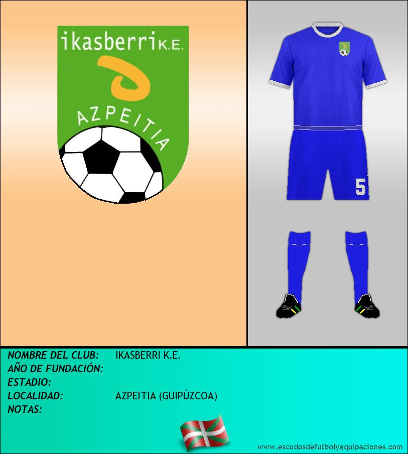 Escudo de IKASBERRI K.E.