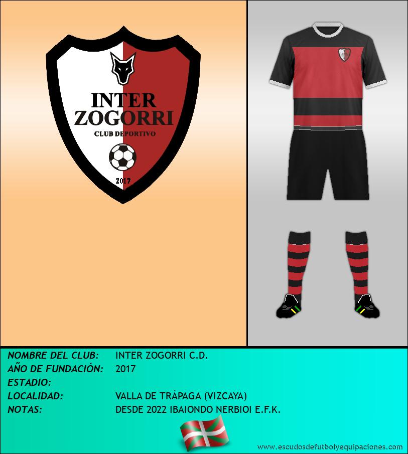 Escudo de INTER ZOGORRI C.D.