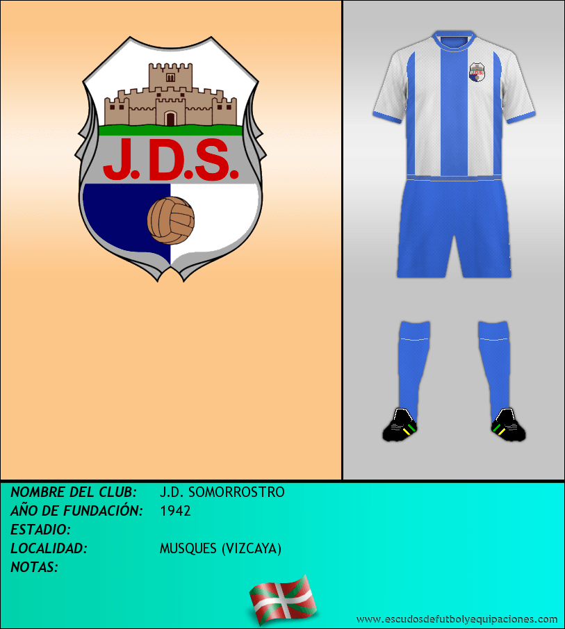 Escudo de J.D. SOMORROSTRO