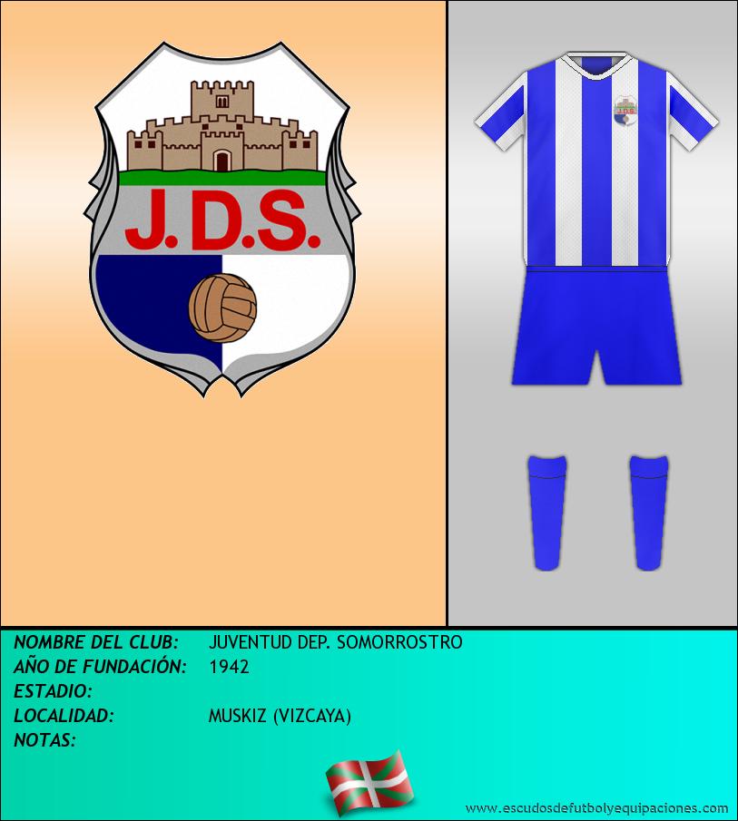Escudo de JUVENTUD DEP. SOMORROSTRO