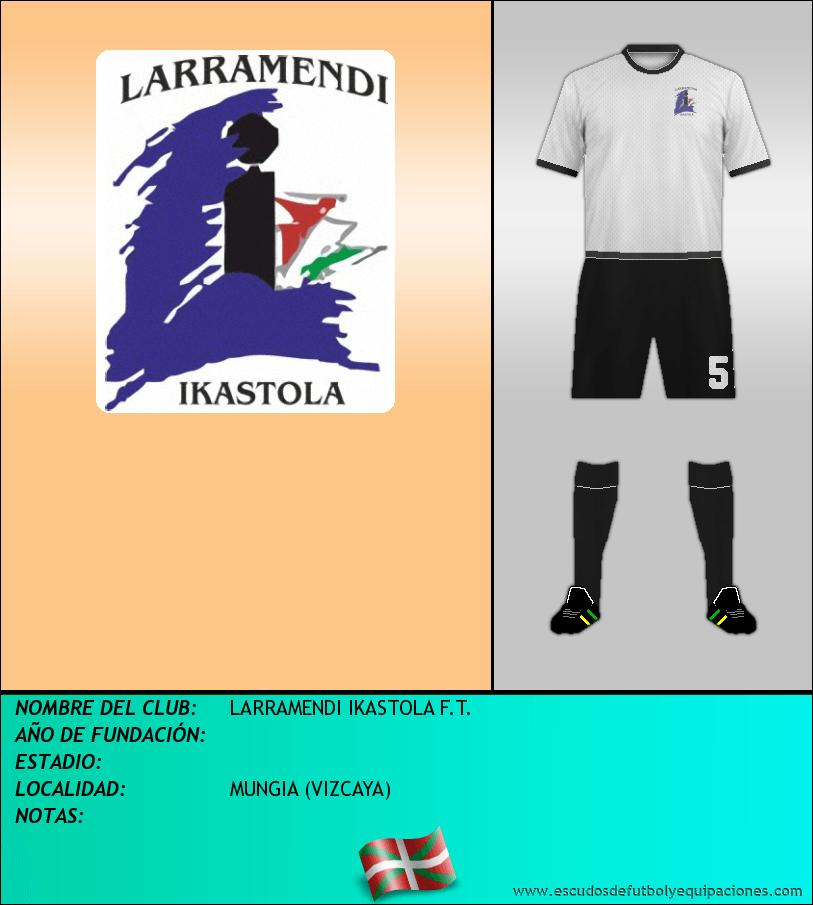 Escudo de LARRAMENDI IKASTOLA F.T.