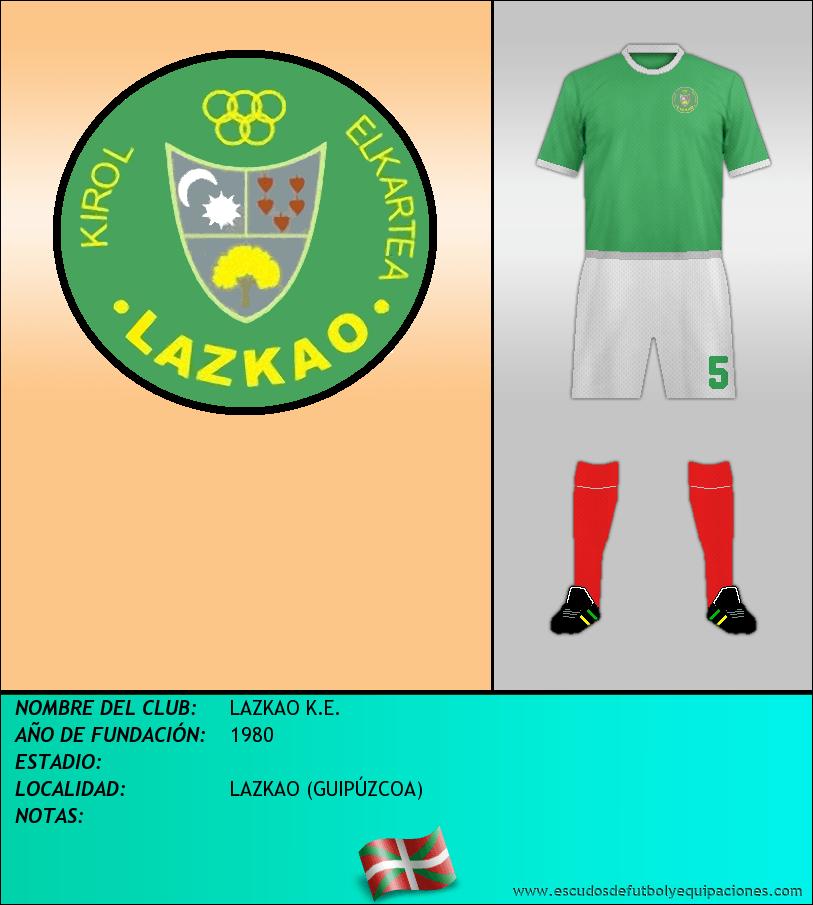 Escudo de LAZKAO K.E.