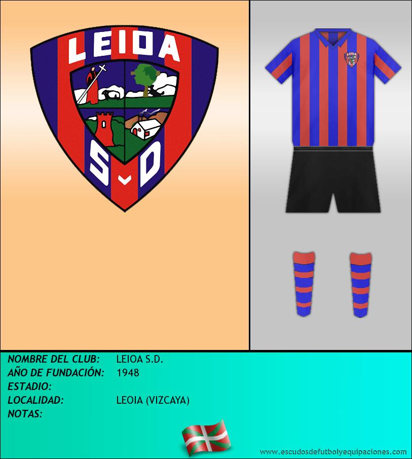 Escudo de LEIOA S.D.