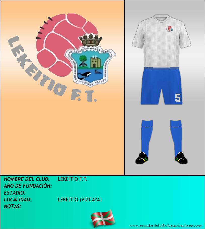 Escudo de LEKEITIO F.T.
