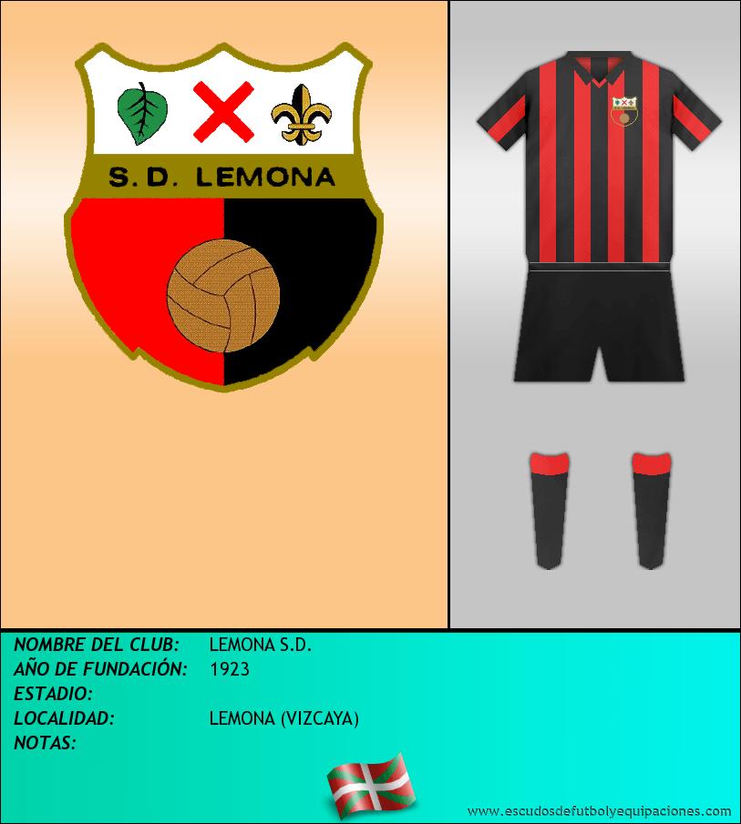 Escudo de LEMONA S.D.