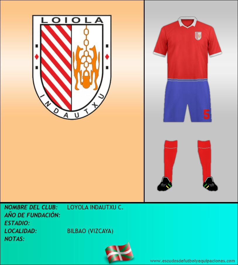 Escudo de LOYOLA INDAUTXU C.