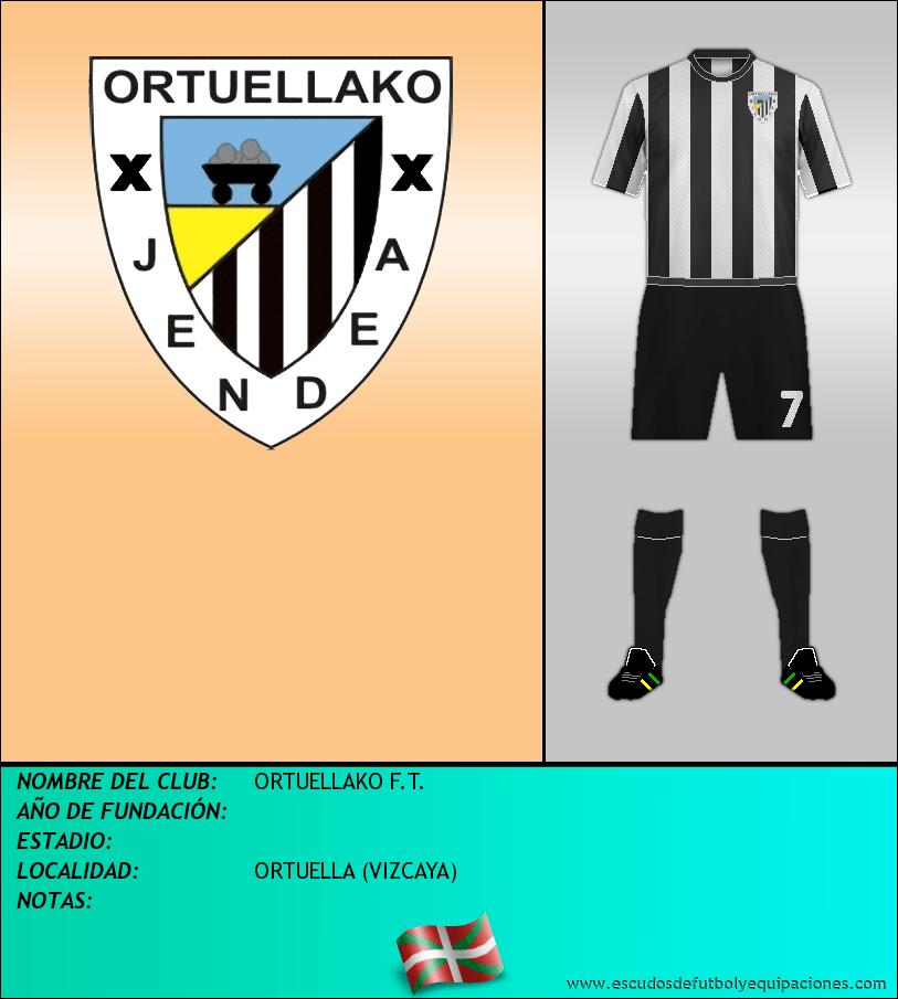 Escudo de ORTUELLAKO F.T.