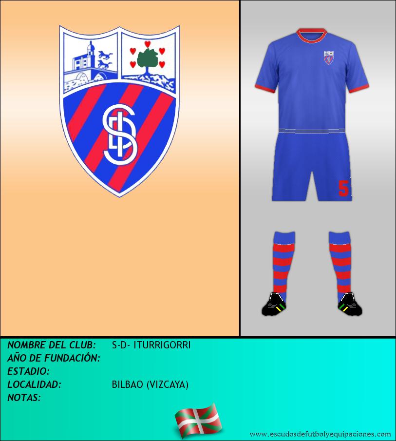 Escudo de S-D- ITURRIGORRI