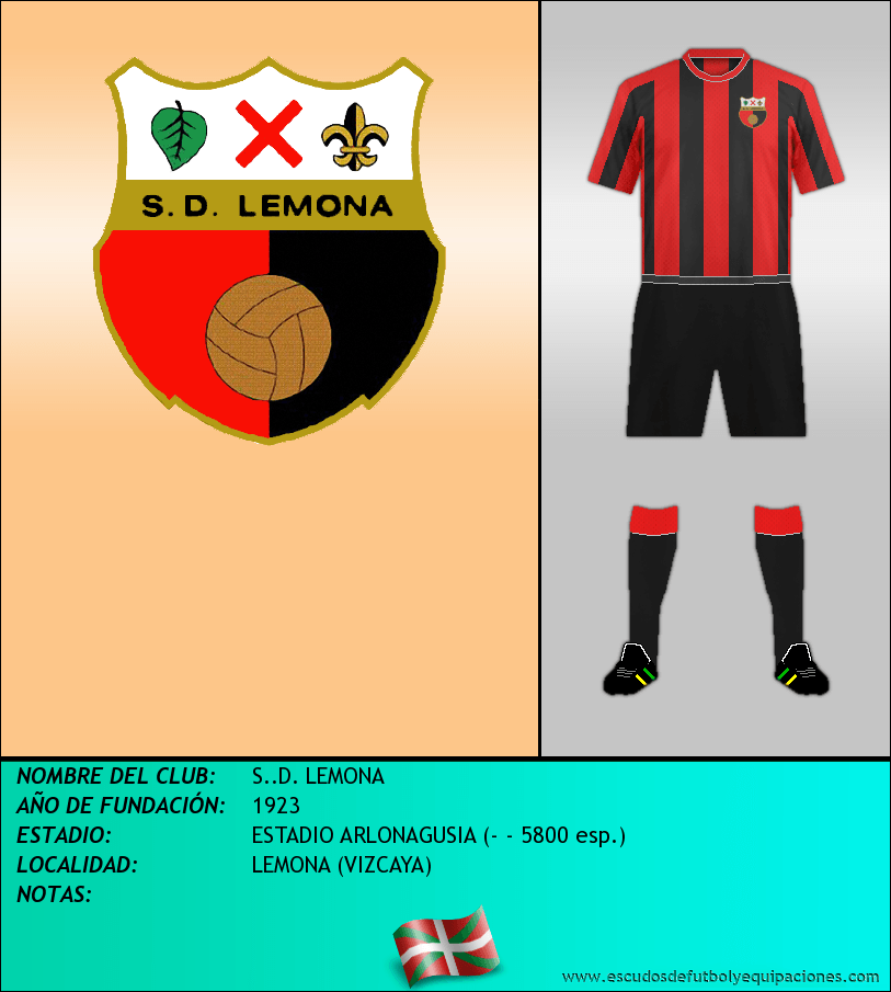 Escudo de S..D. LEMONA