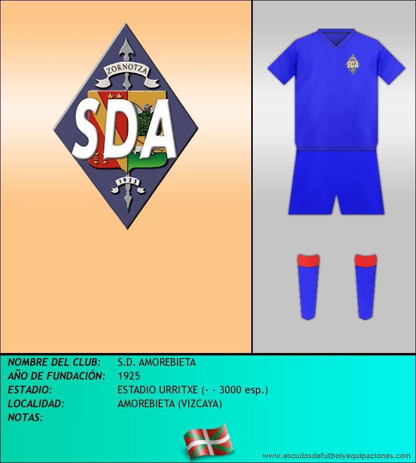 Escudo de S.D. AMOREBIETA