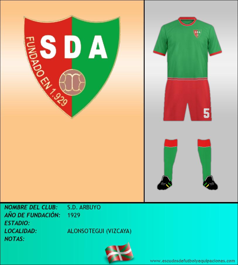 Escudo de S.D. ARBUYO