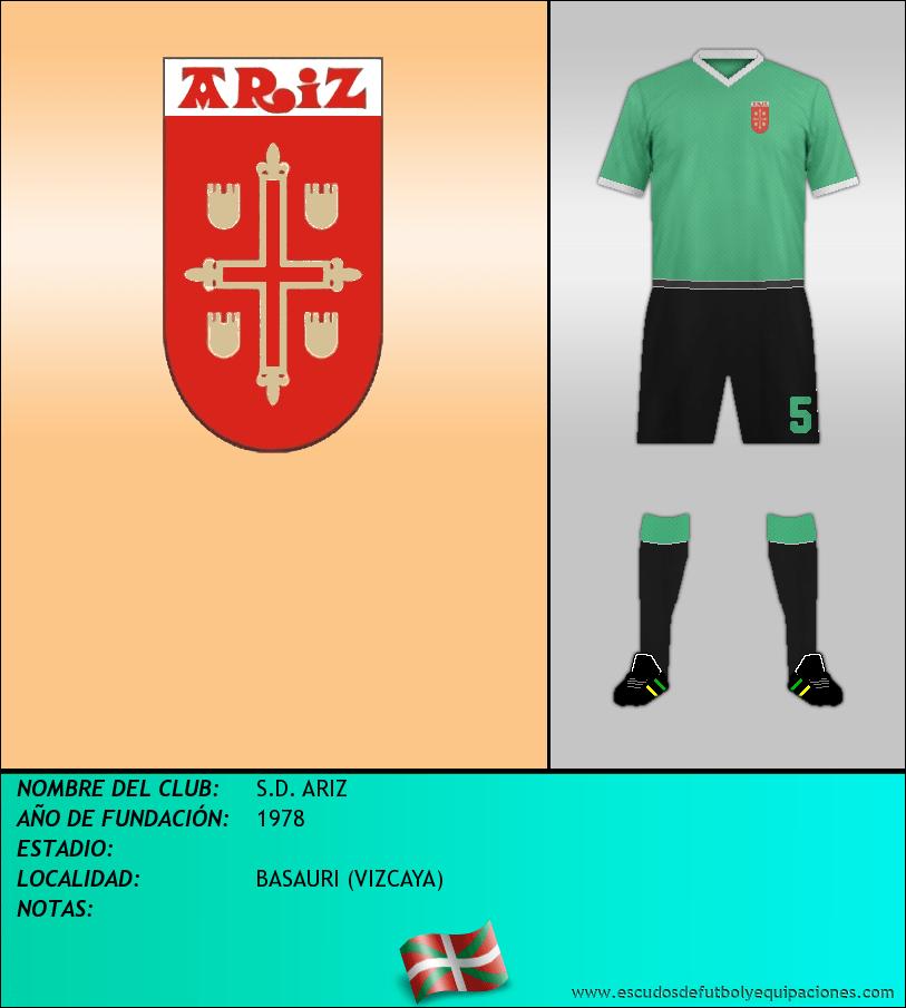 Escudo de S.D. ARIZ