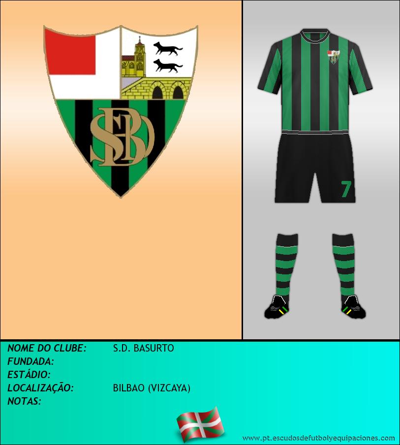 Escudo de S.D. BASURTO