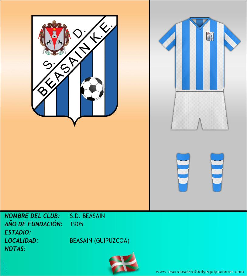 Escudo de S.D. BEASAIN