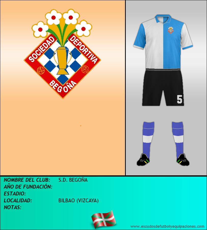 Escudo de S.D. BEGOÑA