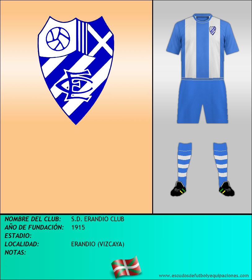 Escudo de S.D. ERANDIO CLUB