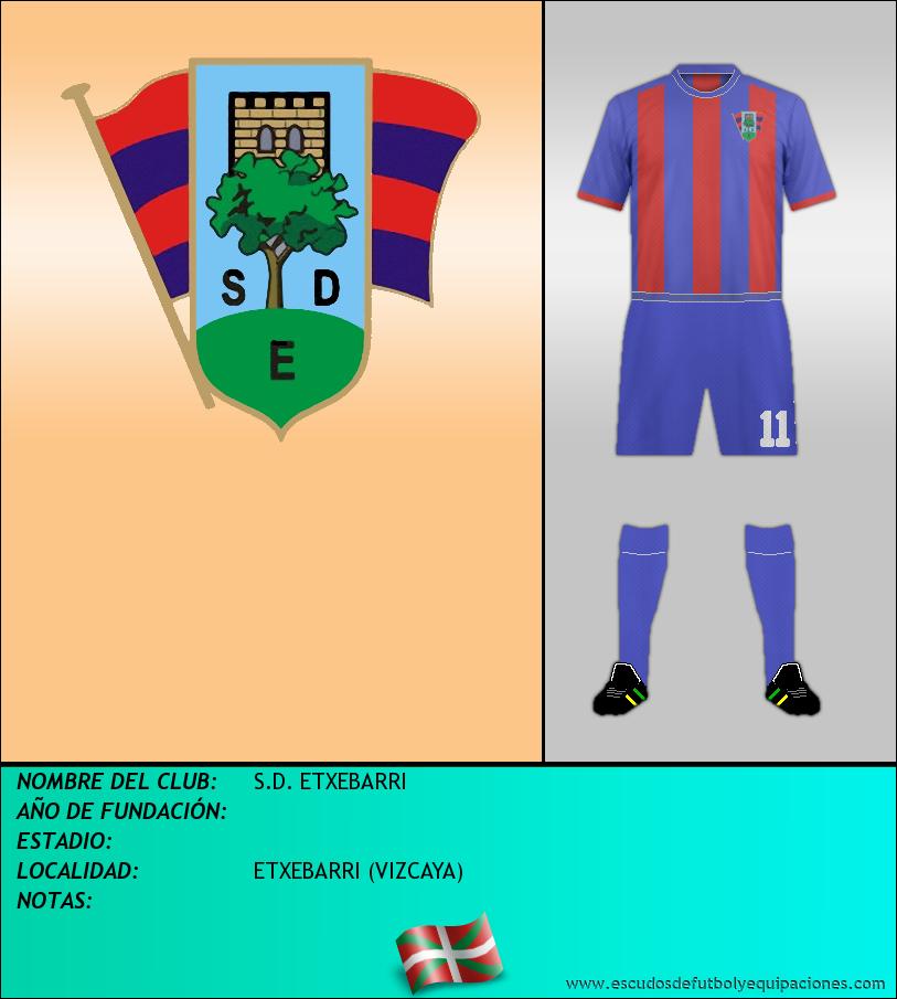 Escudo de S.D. ETXEBARRI