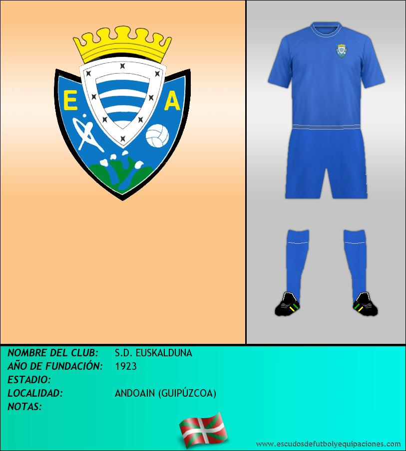 Escudo de S.D. EUSKALDUNA