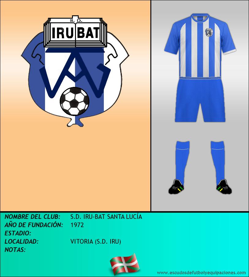 Escudo de S.D. IRU-BAT SANTA LUCÍA