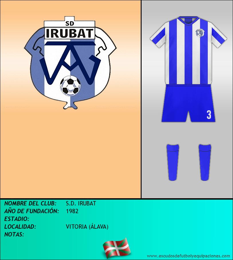 Escudo de S.D. IRUBAT