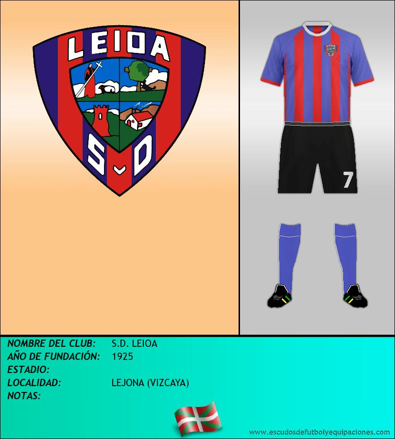 Escudo de S.D. LEIOA