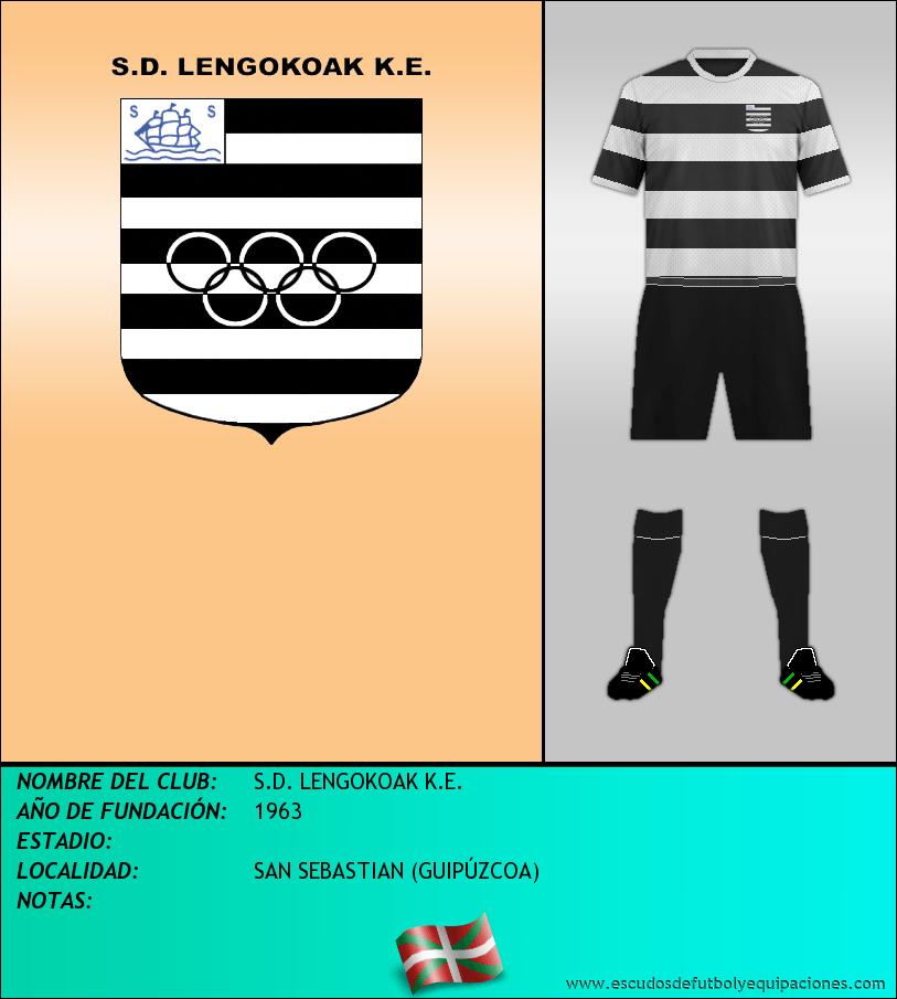Escudo de S.D. LENGOKOAK K.E.
