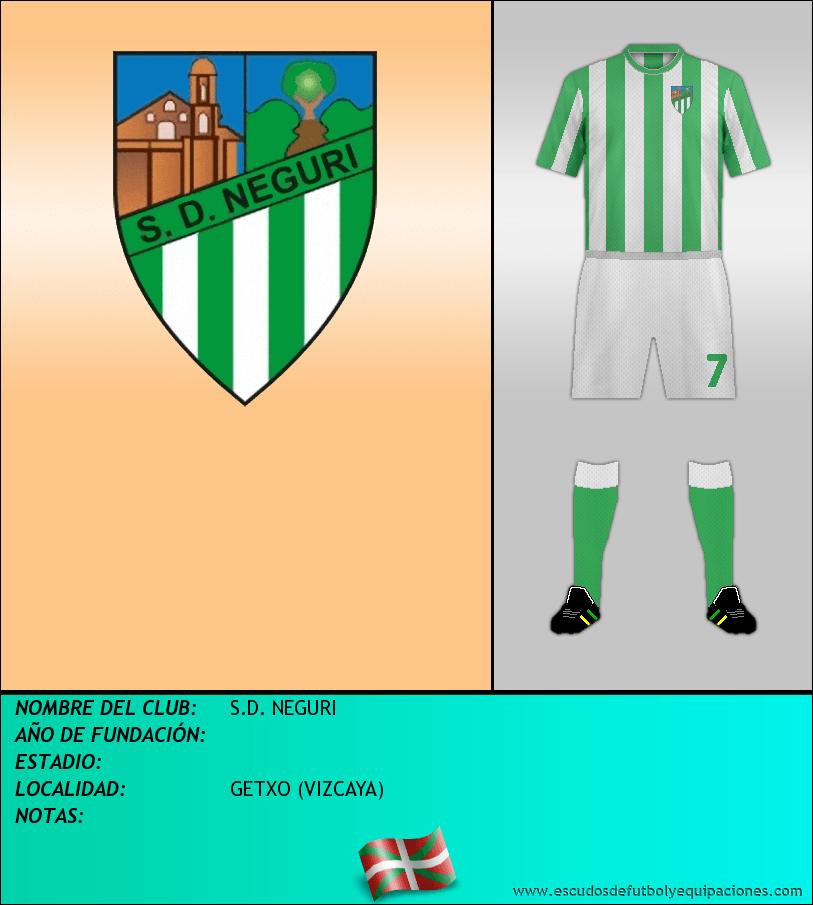 Escudo de S.D. NEGURI