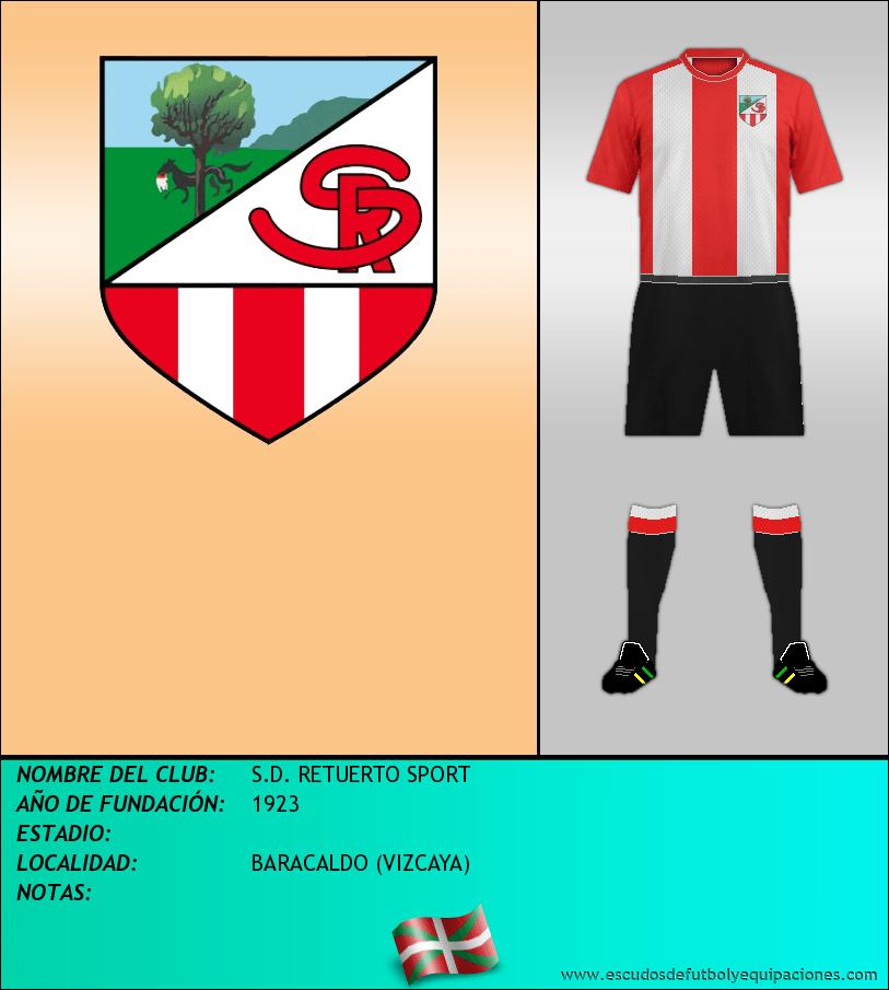 Escudo de S.D. RETUERTO SPORT