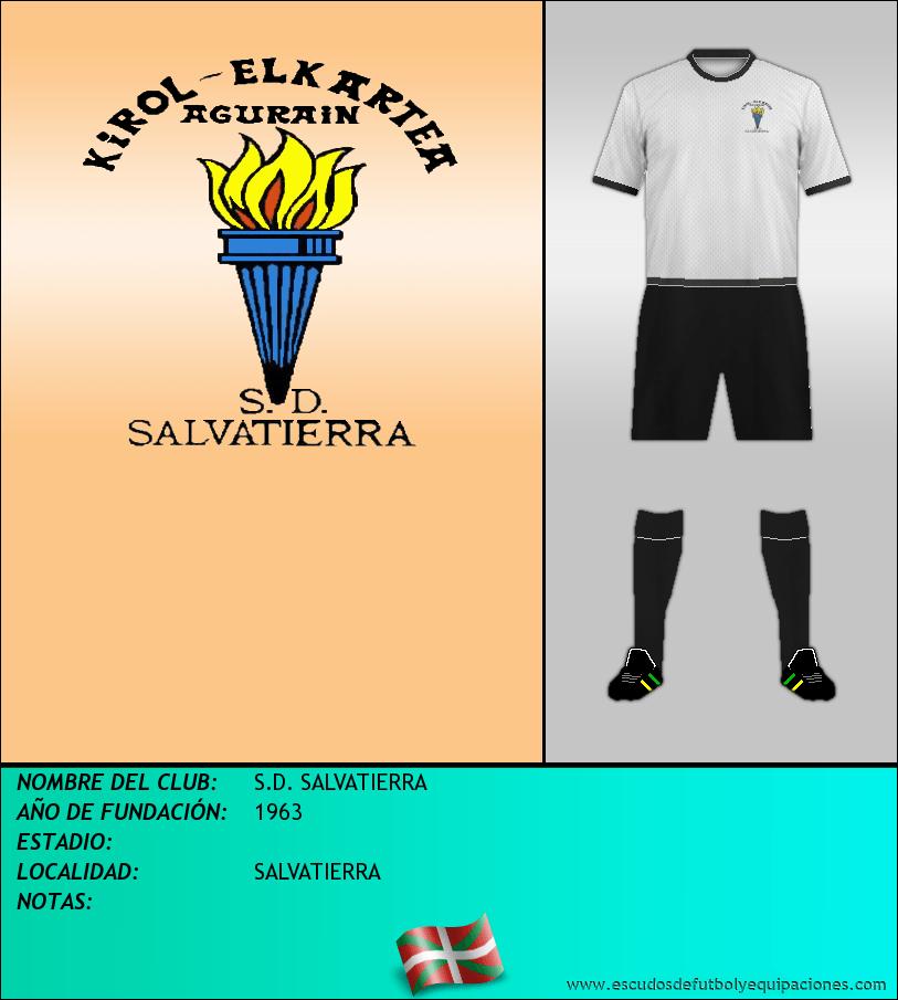 Escudo de S.D. SALVATIERRA