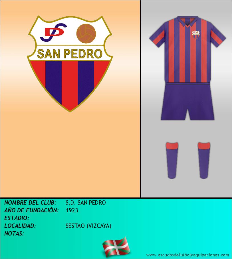 Escudo de S.D. SAN PEDRO
